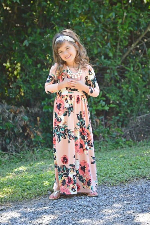 Floral Dress Kids 14 Result
