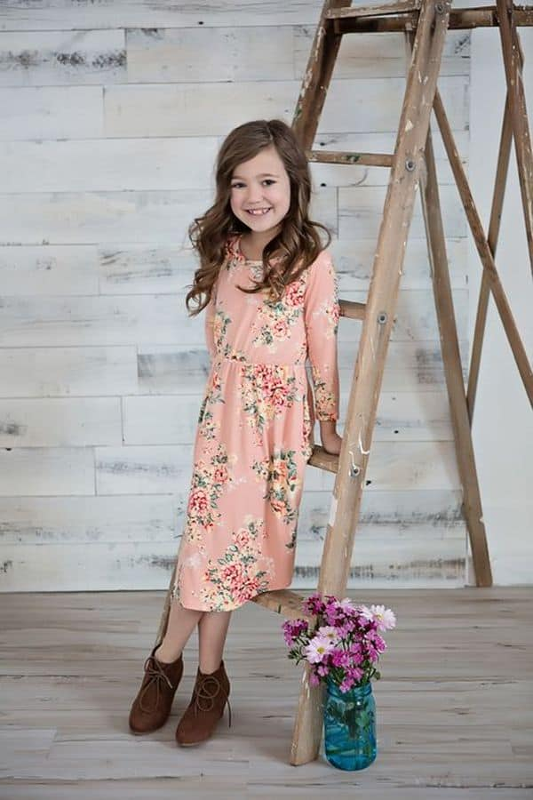 Floral Dress Kids 17 Result