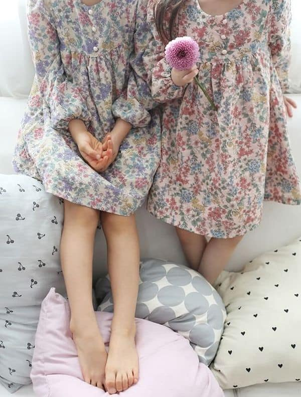Floral Dress Kids 8 Result