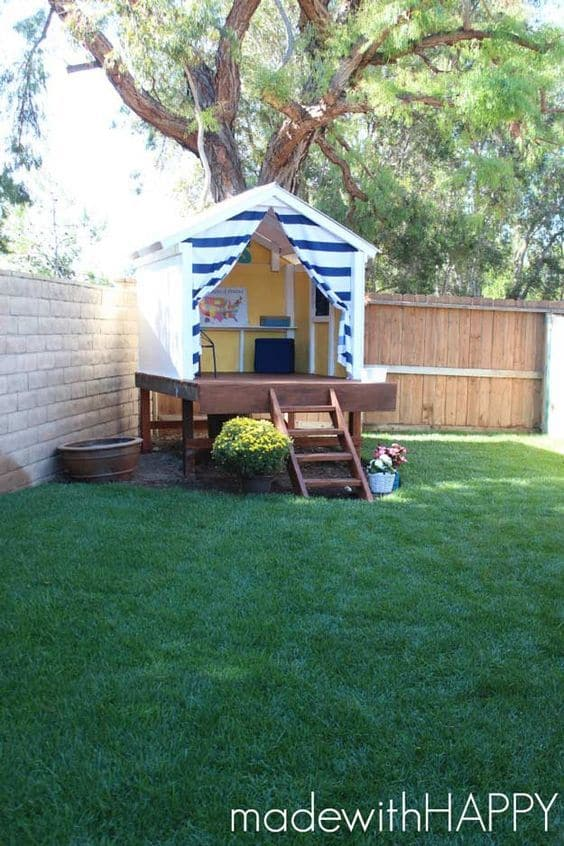 Backyard Playhouse 13 Result