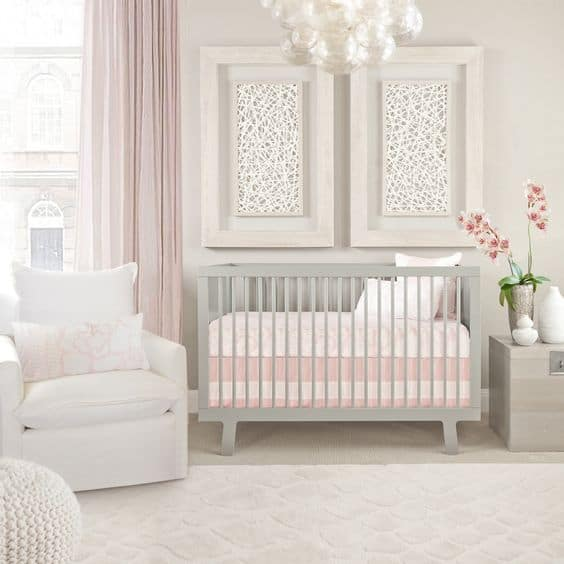 Pink Grey Nursery 13 Result
