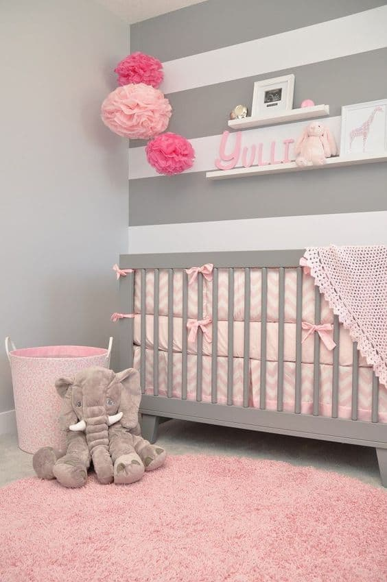 Pink Grey Nursery 4 Result