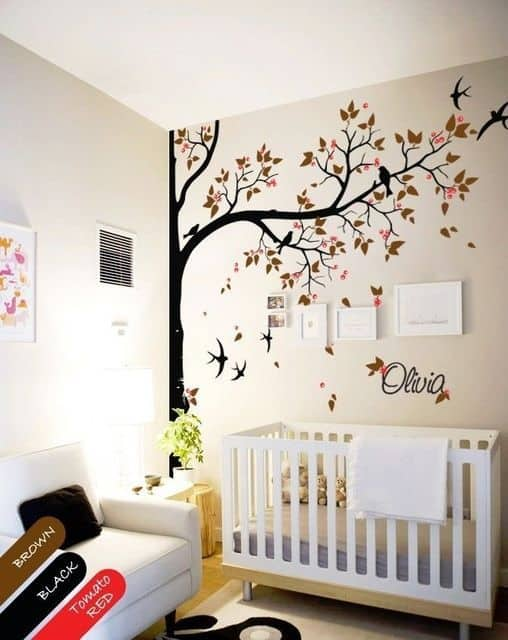 Wall Sticker Baby Nursery 8 Result