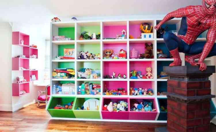 19 Clever and Stylish Ways to Organize Your Kids\'s Toys - mybabydoo