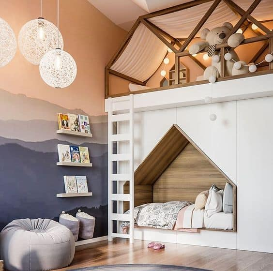 25 Awesome Shared Bedroom Ideas For Kids: 20 Cool Kids' Room Decor Ideas That Are Irresistible