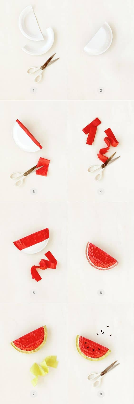 DIY mini piñata watermelon