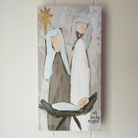 Christmas Canvas Painting 22