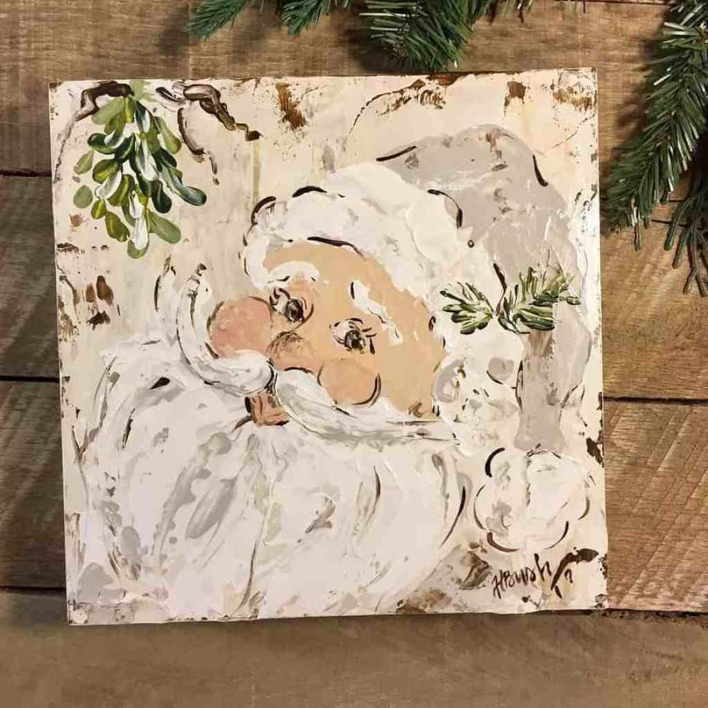 Christmas Canvas Painting 6