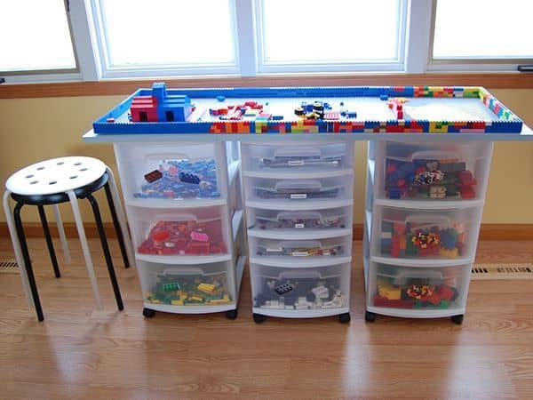 DIY Lego Tables 17