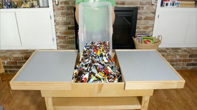 DIY Lego Tables 19