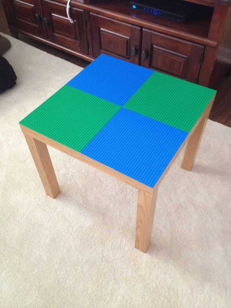 DIY Lego Tables 4