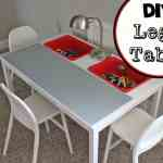 DIY Lego Tables 6