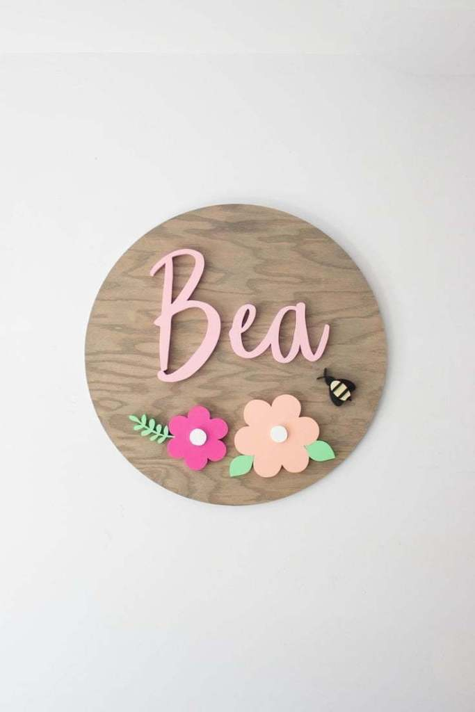 Nursery Name Signs 21