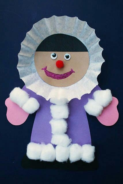 Preschool Crafts WinterChristmas 32