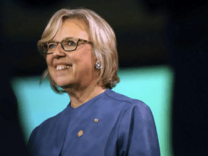 Elizabeth May Federal Green Party Leader