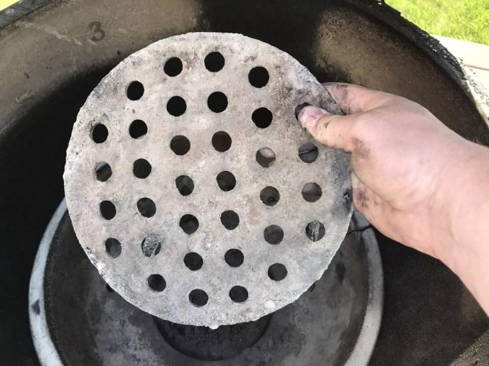 Big Green Egg Coal grate