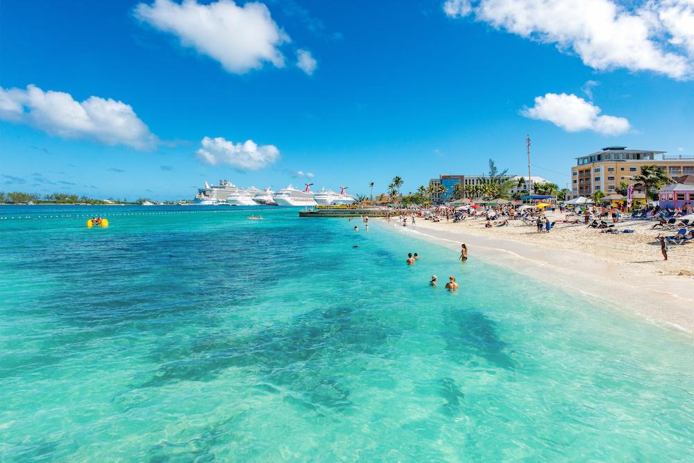best beaches in nassau bahamas