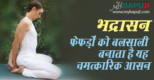 Bhadrasana Steps and Health Benefits in hindi