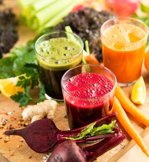 Health Benefits of Juices in Hindi