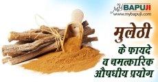 मुलेठी के फायदे व चमत्कारिक औषधीय प्रयोग | Benefits of mulethi herb in hindi