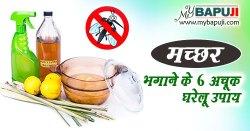 मच्छर भगाने के अचूक घरेलू उपाय | Machar Bhagane ke Upay