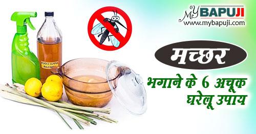 machar bhagane ke gharelu upay in hindi