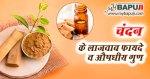चंदन के फायदे ,औषधीय गुण और उपयोग | Chandan Ke Fayde Hindi Me