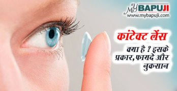 Contact Lens kya Ha Prakar Fayde aur Nuksan in Hindi