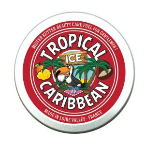 Baume crème pour barbe TROPICAL ICE produits naturels