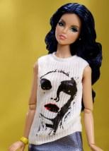 Rock Candy Rufus Blue™ Dressed Doll The Dynamite Girls® Plastic Inevitable Collection: limitado a 300 peças | Crédito da imagem: divulgação Integrity Toys