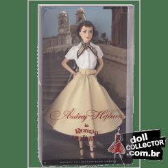 Audrey Hepburn in Roman Holiday   Crédito da imagem: divulgação www.dollcollector.com.br
