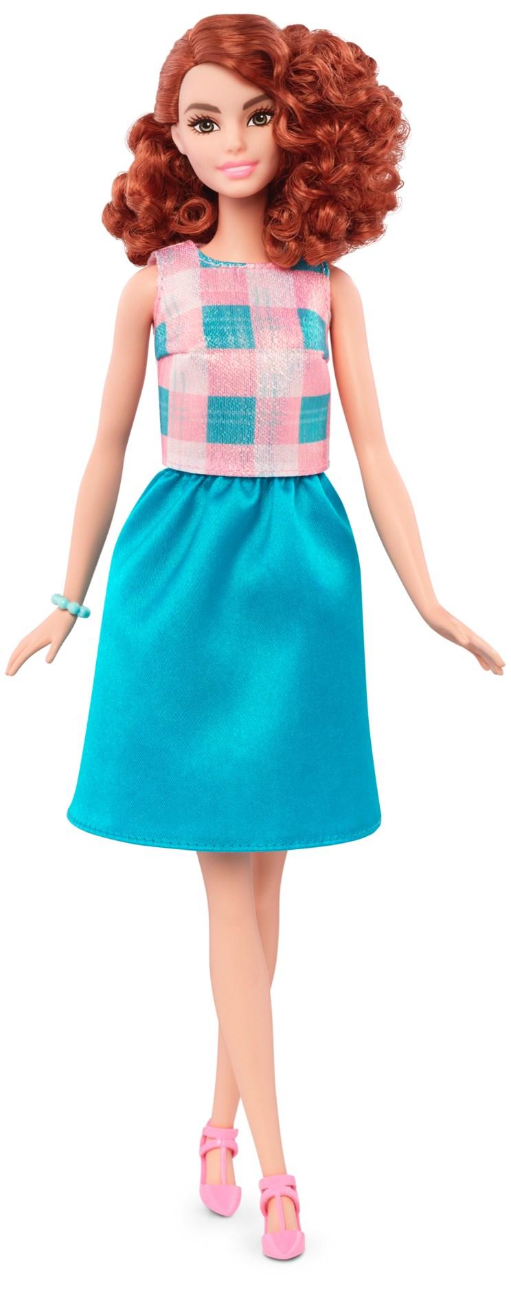 Tall Terrific Teal   Crédito da imagem: divulgação Mattel   www.barbie.com