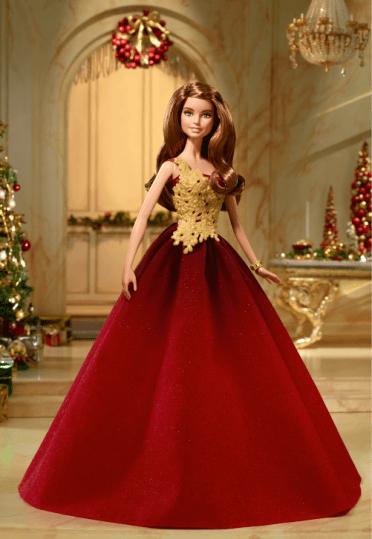 Crédito da imagem: divulgação www.thebarbiecollection.com / Mattel