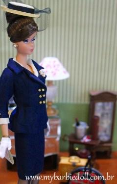 BFMC Boater Ensemble Barbie Doll | Crédito da imagem: Samira | www.mybarbiedoll.com.br