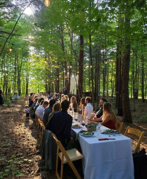 BARC wedding table