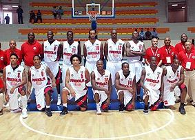 Angola basketball team