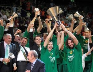 Panathinaikos, 2009 Euroleague Champions