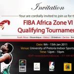 FIBA Zone VI qualifiers schedule 2011