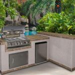 How to Build an Outdoor Kitchen: Wood Frame and Metal Thuds