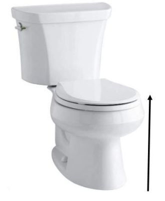 Measure the Height of the Toilet Seat