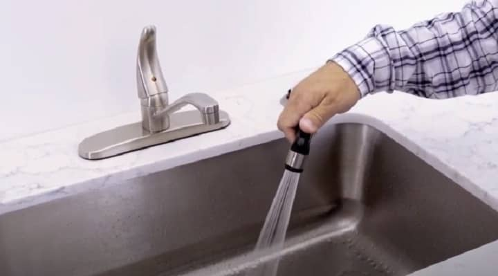 can i add a sprayer to my kitchen faucet