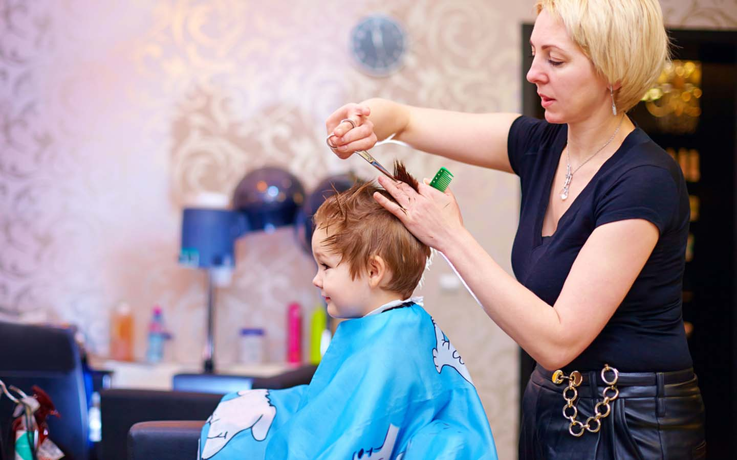 Kids Salons In Dubai Cheeky Monkey Kiddy Couture Amp More