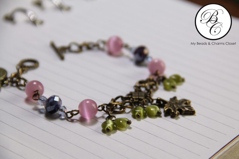 Berries Inspired Vintage Charm Bracelet #VS0010 (3/3)