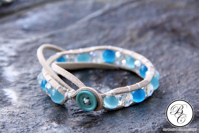 Earthly Faux Suede Lace Bracelet #BR0021S-0281 (2/4)