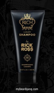 Rick Ross Beard oil - luxury shampoo