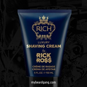 Rick Ross Beard oil - luxury After Shaving Cream