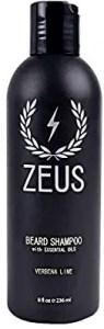 ZEUS Beard Shampoo - Beard softeners for african american men
