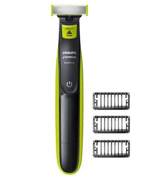 Waterproof beard trimmer