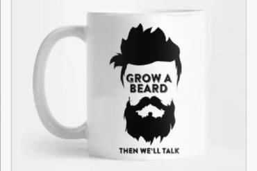 Best beard mug 2020