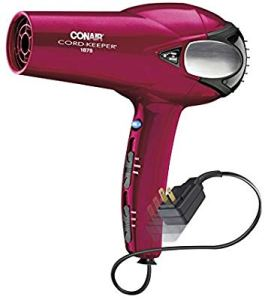 Hair dryer with retractable cord 2020